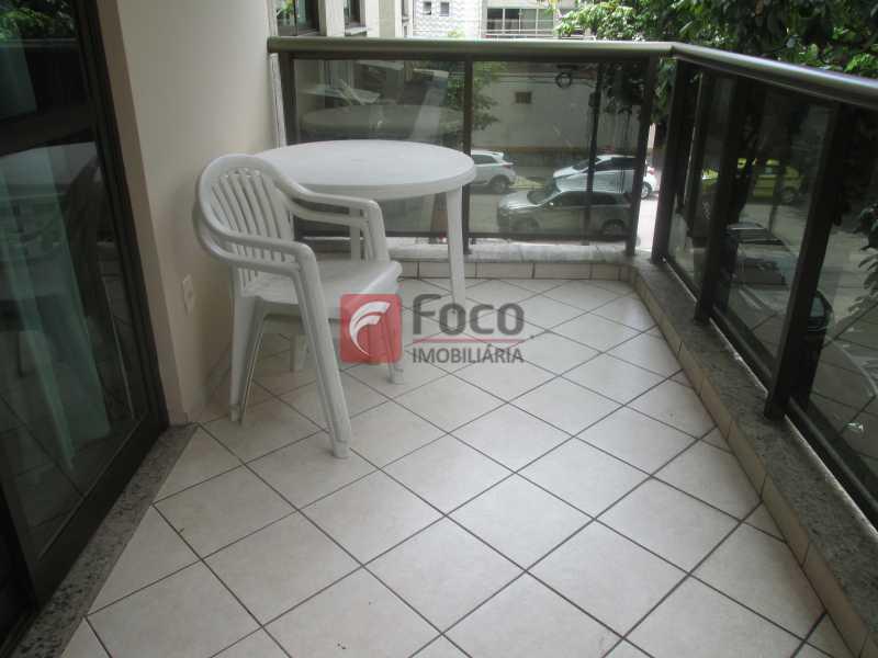 Varanda - Flat à venda Rua Professor Saldanha,Jardim Botânico, Rio de Janeiro - R$ 1.290.000 - JBFL20005 - 5