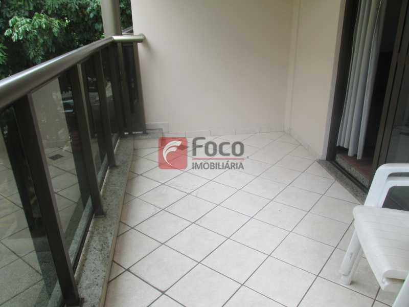 Varanda - Flat à venda Rua Professor Saldanha,Jardim Botânico, Rio de Janeiro - R$ 1.290.000 - JBFL20005 - 1