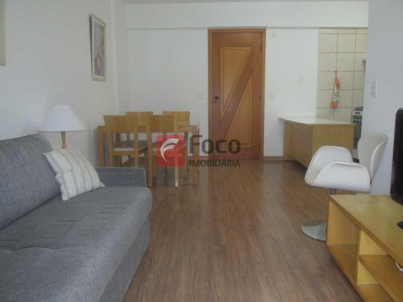 Sala - Flat à venda Rua Professor Saldanha,Jardim Botânico, Rio de Janeiro - R$ 1.290.000 - JBFL20005 - 6