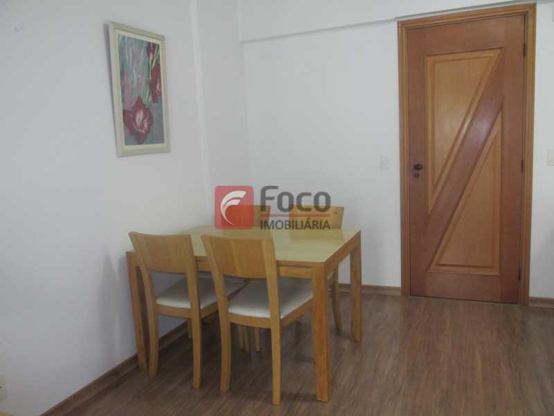 Sala Jantar - Flat à venda Rua Professor Saldanha,Jardim Botânico, Rio de Janeiro - R$ 1.290.000 - JBFL20005 - 7