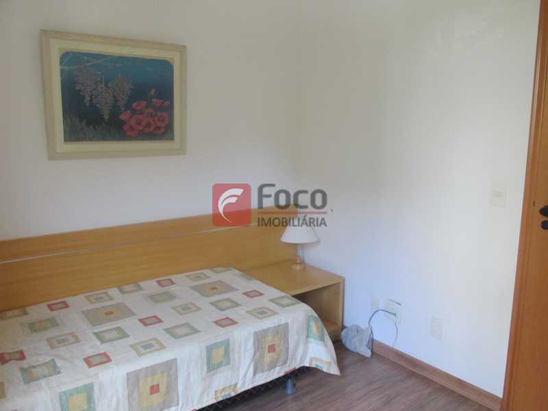 Quarto 1 - Flat à venda Rua Professor Saldanha,Jardim Botânico, Rio de Janeiro - R$ 1.290.000 - JBFL20005 - 12
