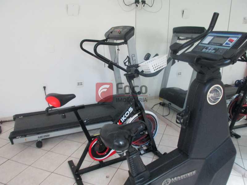 Sala de ginástica - Flat à venda Rua Professor Saldanha,Jardim Botânico, Rio de Janeiro - R$ 1.290.000 - JBFL20005 - 21