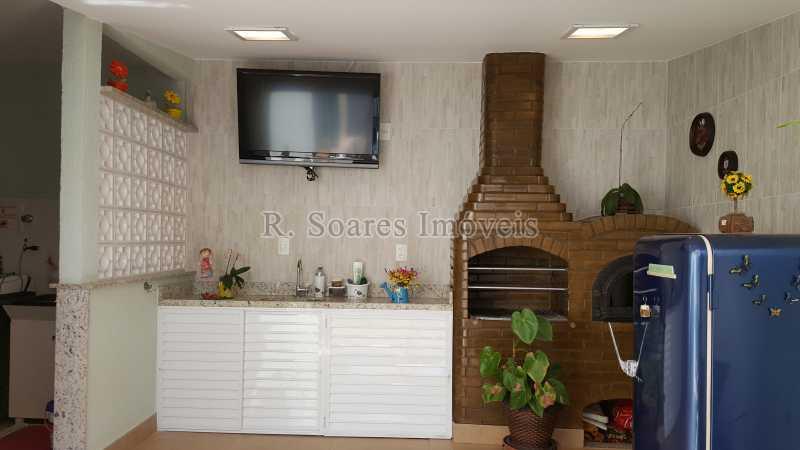 43- ÁREA GOURMET - Casa em Condomínio à venda Rua Ituverava - De 939 Ao Fim - Lado ímpar,Rio de Janeiro,RJ - R$ 1.300.000 - LDCN40001 - 25