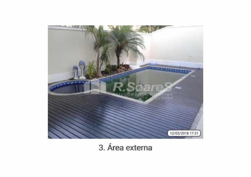 area-pscina - Casa em Condomínio 5 quartos à venda Rio de Janeiro,RJ - R$ 2.000.000 - VVCN50006 - 3