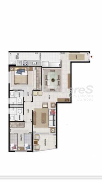 273034804957449 - Lindo apartamento no catete 2 quartos - LDAP20339 - 8
