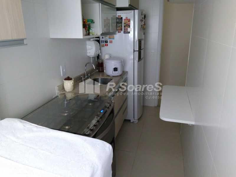 2 - Excelente apartamento com duas vagas de garagem na escritura no Cachambí em prédio com infra total - JCAP30416 - 3