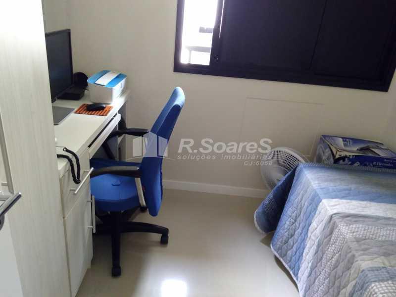 6 - Excelente apartamento com duas vagas de garagem na escritura no Cachambí em prédio com infra total - JCAP30416 - 7