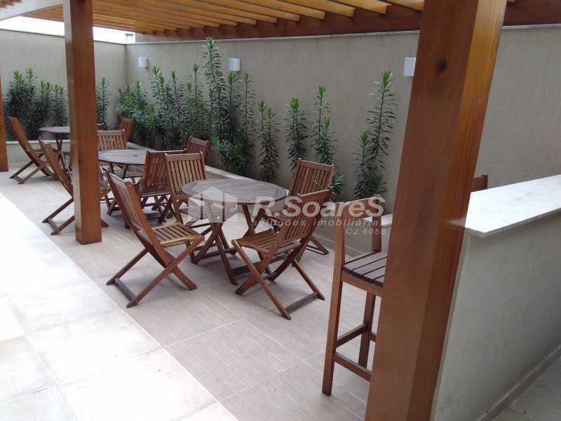 8 - Excelente apartamento com duas vagas de garagem na escritura no Cachambí em prédio com infra total - JCAP30416 - 9