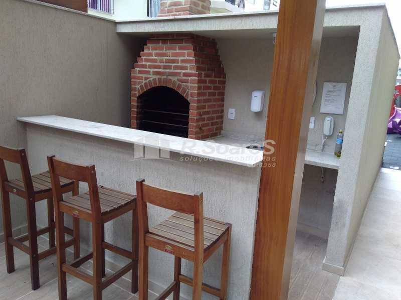 9 - Excelente apartamento com duas vagas de garagem na escritura no Cachambí em prédio com infra total - JCAP30416 - 10