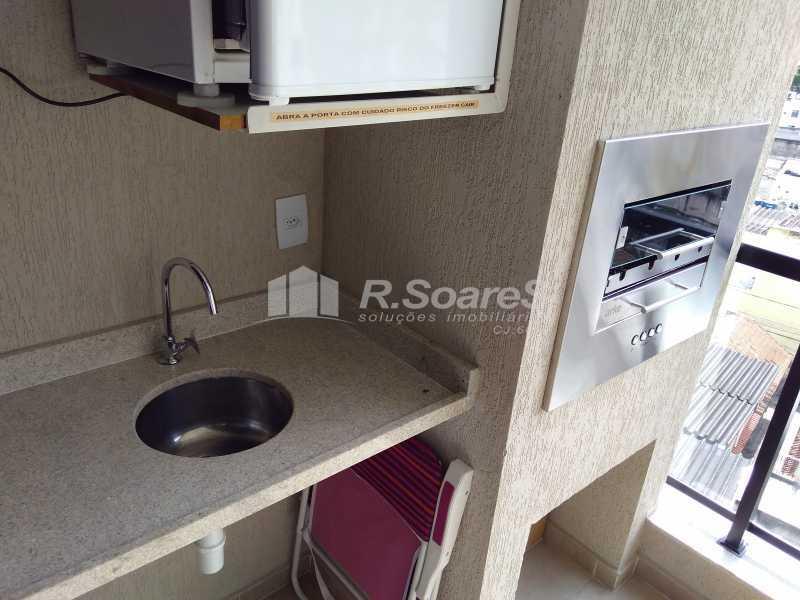 14 - Excelente apartamento com duas vagas de garagem na escritura no Cachambí em prédio com infra total - JCAP30416 - 15