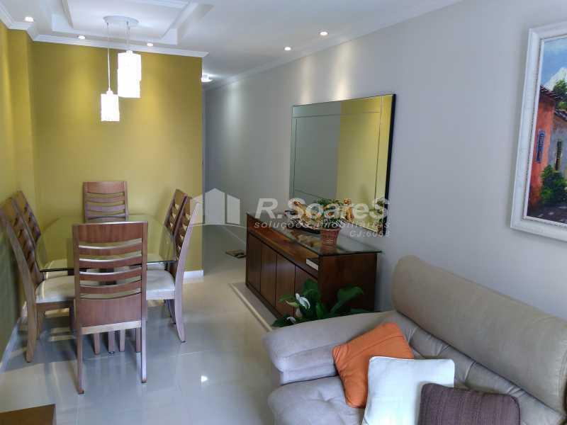 17 - Excelente apartamento com duas vagas de garagem na escritura no Cachambí em prédio com infra total - JCAP30416 - 17