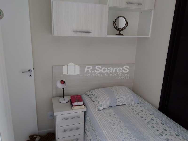 19 - Excelente apartamento com duas vagas de garagem na escritura no Cachambí em prédio com infra total - JCAP30416 - 18