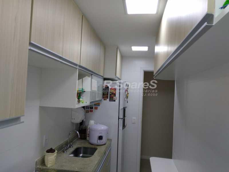 20 - Excelente apartamento com duas vagas de garagem na escritura no Cachambí em prédio com infra total - JCAP30416 - 19