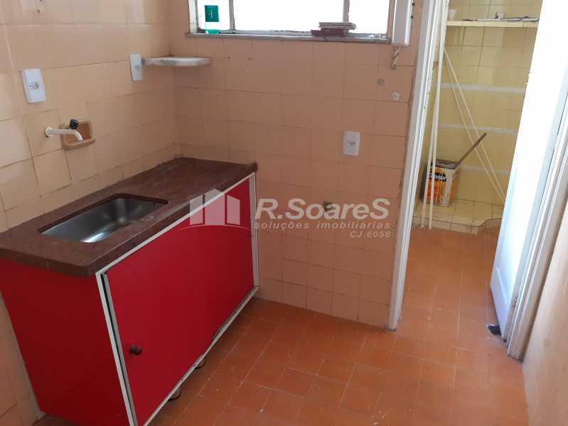3 - R.Soares vende!!! Apartamento com dois quartos no coração do Meier colado á Rua Dias da Cruz perto da Pizzaria Parmê - JCAP20743 - 4