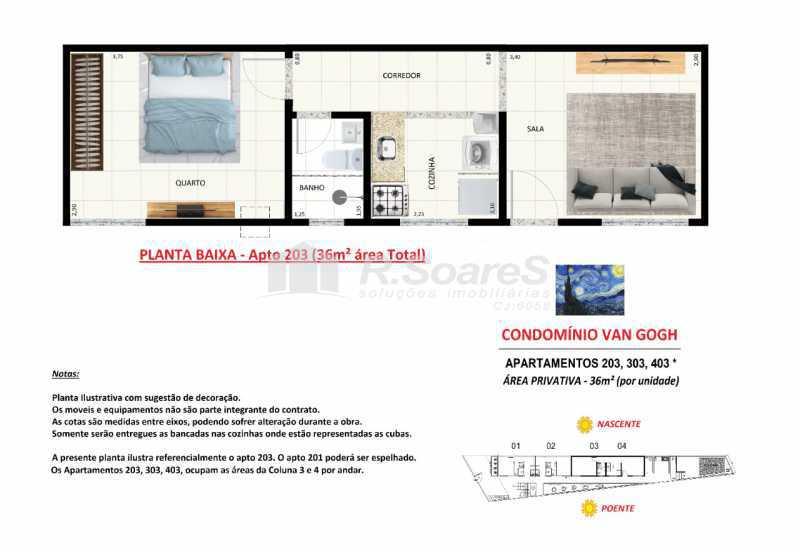 66adacdc-ab40-423d-ad20-75f2a1 - Apartamento 1 quarto à venda Rio de Janeiro,RJ - R$ 115.000 - VVAP10081 - 20