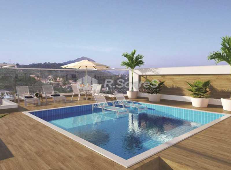 piscina-solar-d-ampezzo-large- - Lançamento de Apartamento Garden na Tijuca - BTAA30001 - 4