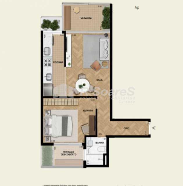 4 - Apartamento 1 quarto à venda Rio de Janeiro,RJ - R$ 906.605 - LDAP10230 - 6