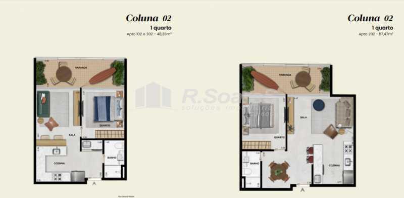 7 - Apartamento 1 quarto à venda Rio de Janeiro,RJ - R$ 906.605 - LDAP10230 - 9