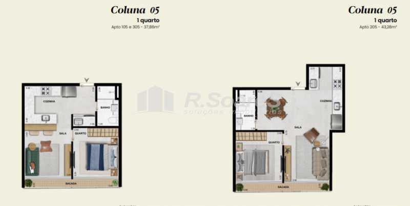 12 - Apartamento 1 quarto à venda Rio de Janeiro,RJ - R$ 906.605 - LDAP10230 - 14