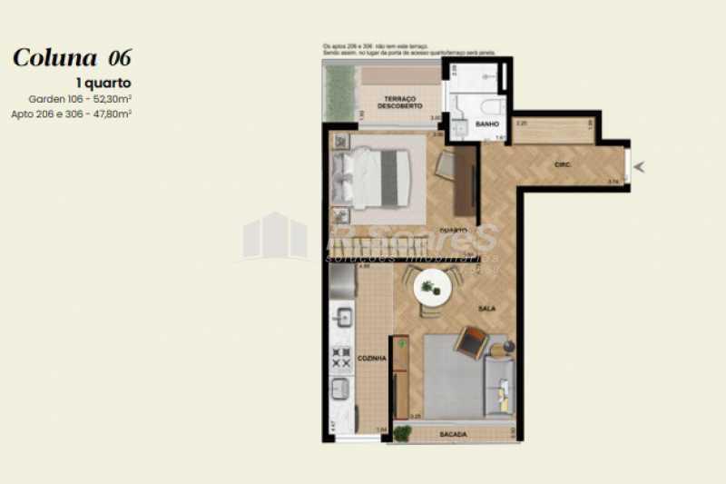 14 - Apartamento 1 quarto à venda Rio de Janeiro,RJ - R$ 906.605 - LDAP10230 - 16