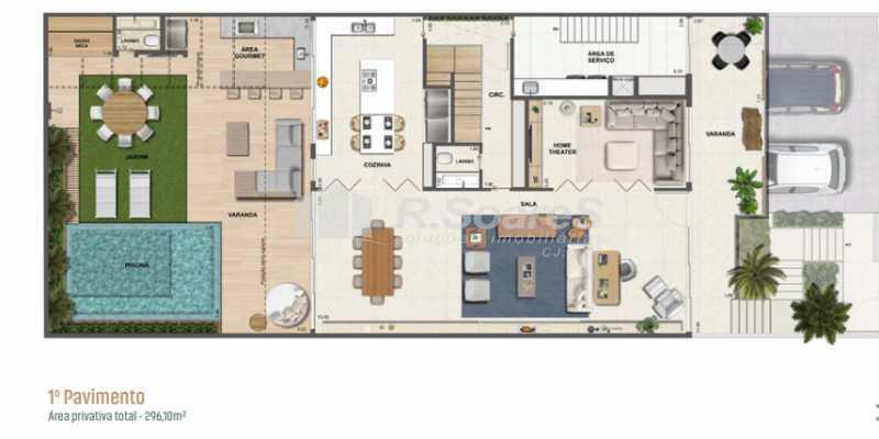 6 - Casa 4 quartos à venda Rio de Janeiro,RJ - R$ 9.850.000 - LDCA40007 - 7