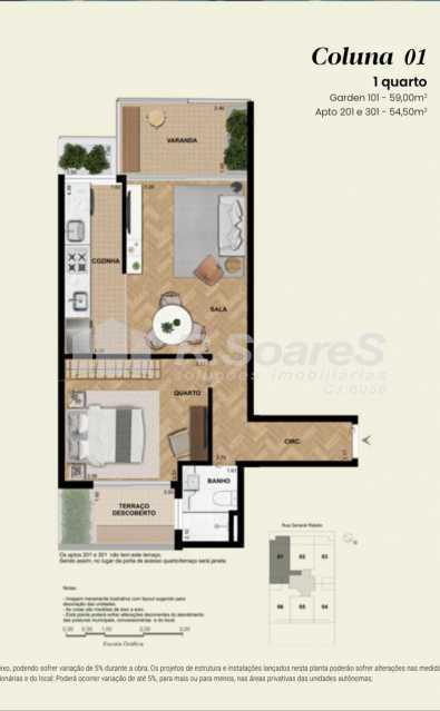 9c6782ca-4975-4aca-bf47-90be19 - Apartamento 1 quarto à venda Rio de Janeiro,RJ - R$ 1.023.019 - BTAP10011 - 3