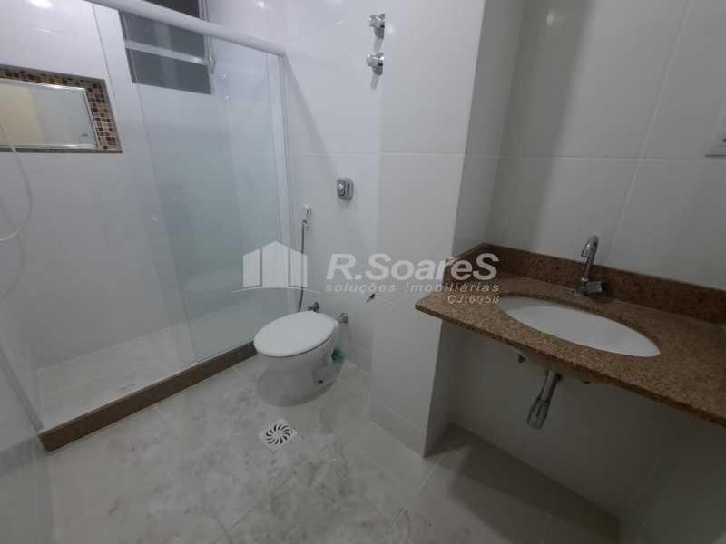 8 - Excelente localização, Apartamento de 3 quartos sendo uma suíte, no coração do Flamengo. Uma vaga na escritura. Vista parcial da Baía de Guanabara - BTAP30049 - 10