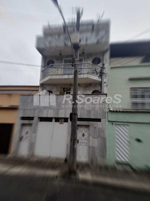 1. - Rio de Janeiro, São Cristóvão, Casa triplex, 5 quartos, sendo 3 suítes, 491 m², frente! - LDCA50008 - 1