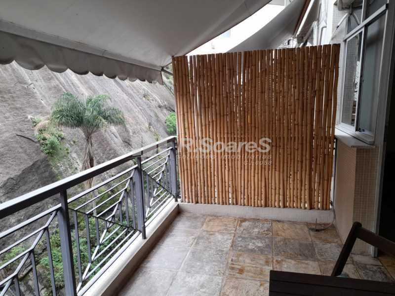 Varanda da sala - Apartamento 2 quartos à venda Rio de Janeiro,RJ - R$ 1.400.000 - GPAP20033 - 4