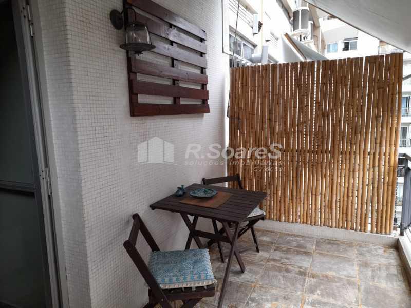 Varanda sala 2 - Apartamento 2 quartos à venda Rio de Janeiro,RJ - R$ 1.400.000 - GPAP20033 - 3