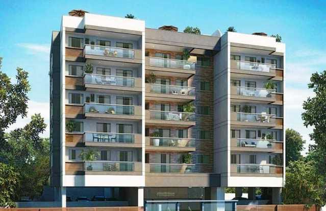 00 - Apartamento a venda Avenida São Guilherme de Norwich,Rio de Janeiro,RJ - R$ 519.839 - TQAP20014 - 1