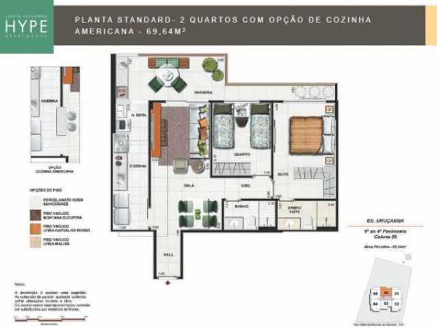 07 - Apartamento a venda Avenida São Guilherme de Norwich,Rio de Janeiro,RJ - R$ 519.839 - TQAP20014 - 23