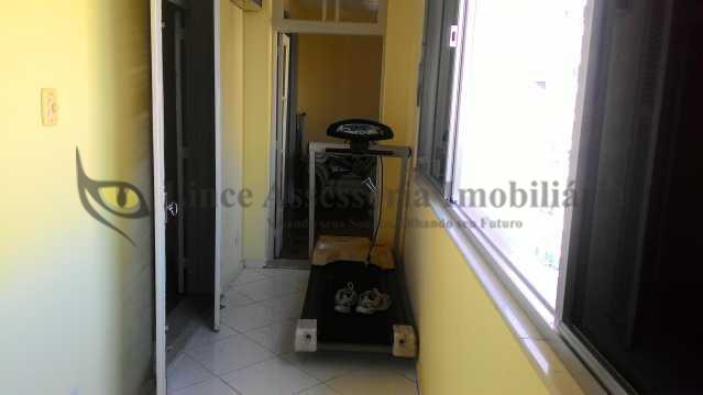Varanda. 1.3 - Apartamento 3 quartos à venda Tijuca, Norte,Rio de Janeiro - R$ 750.000 - PAAP30535 - 5