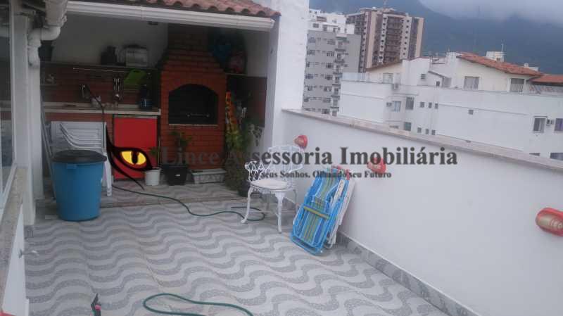 terraço 2 - Cobertura Tijuca,Norte,Rio de Janeiro,RJ À Venda,2 Quartos,120m² - PACO20033 - 23