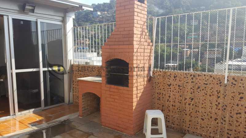 Terraço 1.1 - Cobertura Vila Isabel, Norte,Rio de Janeiro, RJ À Venda, 3 Quartos, 113m² - TACO30070 - 19