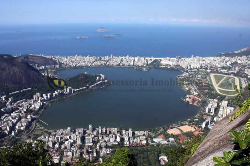 1 - VISTA AÉREA DA LAGOA - Apartamento 4 quartos à venda Lagoa, Sul,Rio de Janeiro - R$ 4.500.000 - IAAP40082 - 1