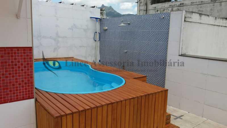 piscina no terraço - Cobertura Tijuca,Norte,Rio de Janeiro,RJ À Venda,2 Quartos,170m² - PACO20039 - 23