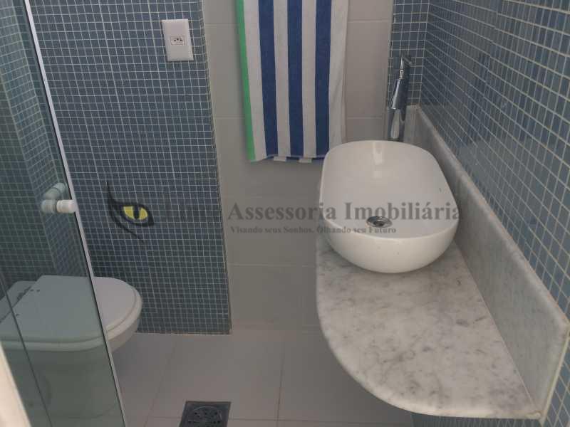 19 BANHEIRO DE EMPREGADA - Apartamento Ipanema, Sul,Rio de Janeiro, RJ À Venda, 2 Quartos, 127m² - IAAP20923 - 19