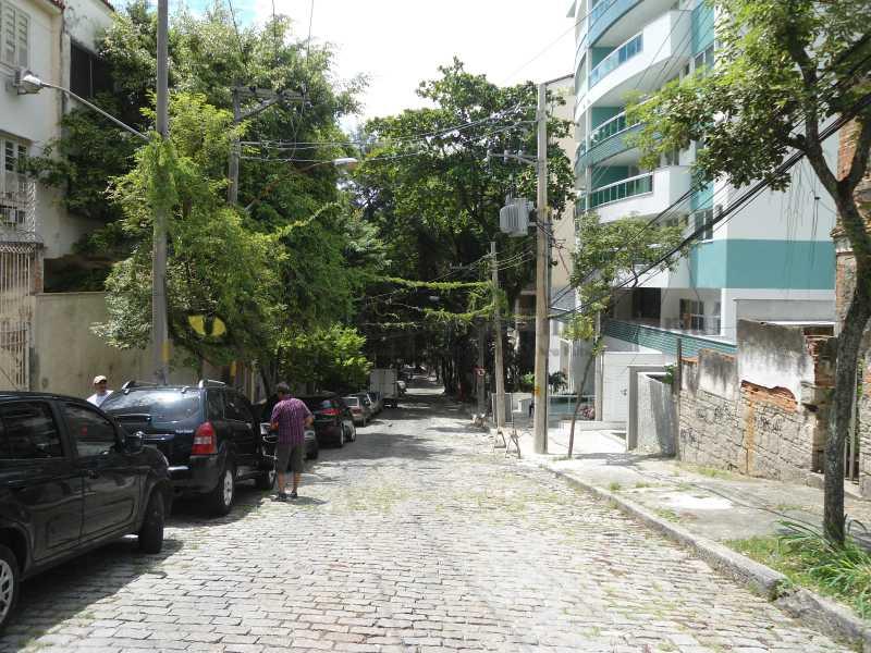 vista da rua - Casa 9 quartos à venda Tijuca, Norte,Rio de Janeiro - R$ 2.900.000 - TACA90002 - 19