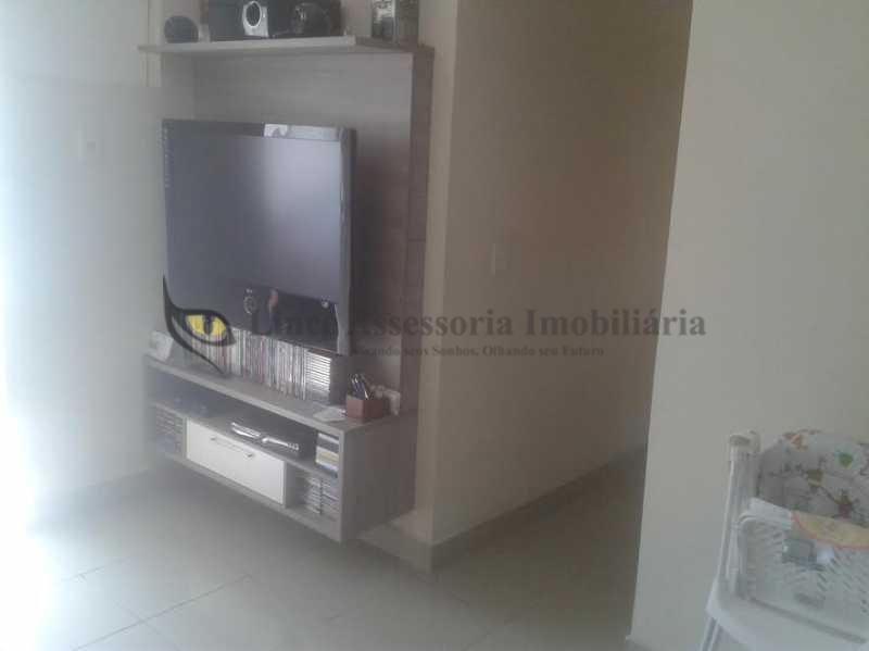2-Sala-1.1 - Apartamento Rio Comprido, Norte,Rio de Janeiro, RJ À Venda, 3 Quartos, 62m² - TAAP30540 - 4