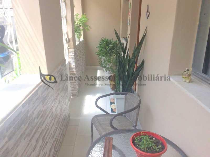 VARANDA 1 - Casa de Vila 3 quartos à venda Quintino Bocaiúva, Rio de Janeiro - R$ 340.000 - TACV30029 - 1