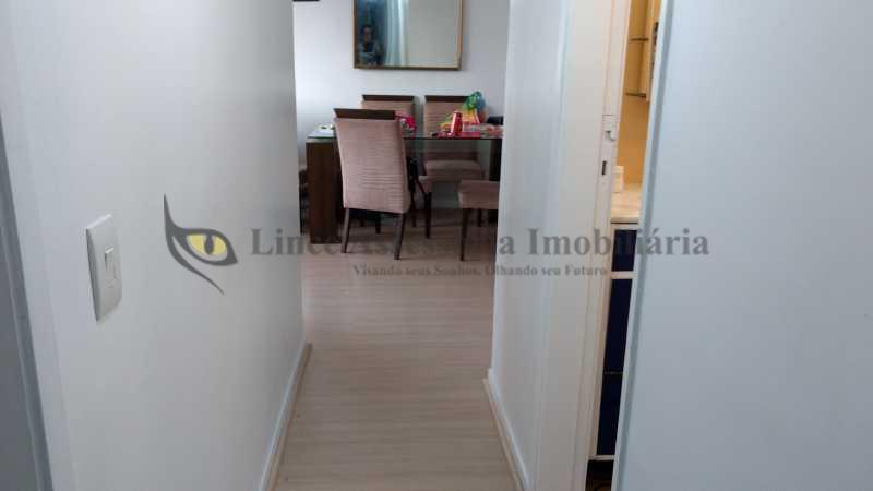 3 corredor - Apartamento Tijuca, Norte,Rio de Janeiro, RJ À Venda, 2 Quartos, 70m² - ADAP20784 - 6