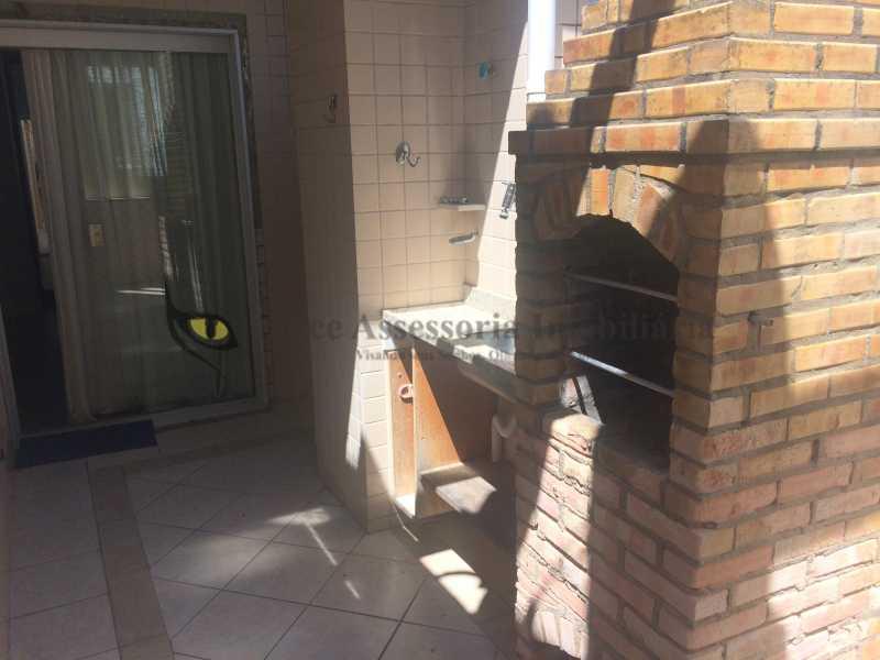 05 CHURRASQUEIRA 1 - Cobertura Tijuca, Norte,Rio de Janeiro, RJ À Venda, 3 Quartos, 110m² - TACO30083 - 5