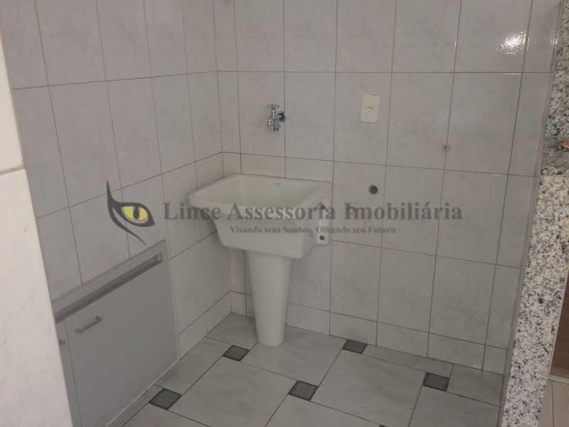 20 ÁREA DE SERVIÇO - Cobertura Tijuca, Norte,Rio de Janeiro, RJ À Venda, 3 Quartos, 110m² - TACO30083 - 20