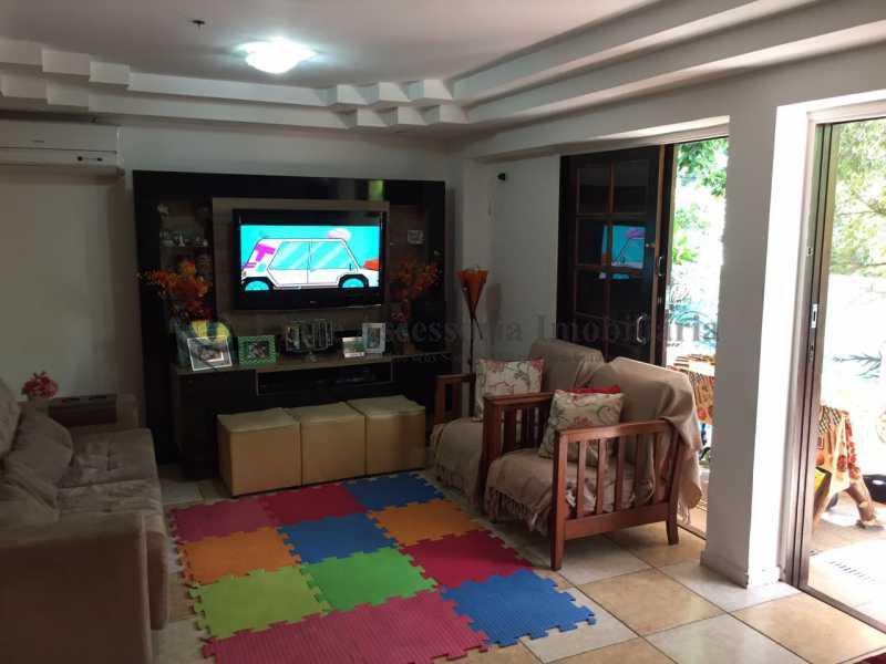 sala1 - Casa em Condomínio Tijuca, Norte,Rio de Janeiro, RJ À Venda, 3 Quartos, 230m² - TACN30002 - 1