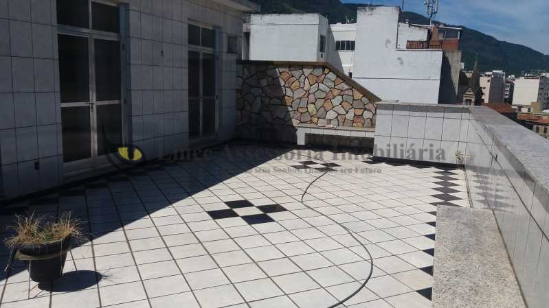terraço  - Cobertura À VENDA, Tijuca, Rio de Janeiro, RJ - TACO20040 - 3