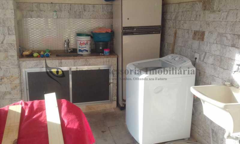 17-área de serviço-2 - Casa 9 quartos à venda Rio Comprido, Norte,Rio de Janeiro - R$ 390.000 - TACA90003 - 21