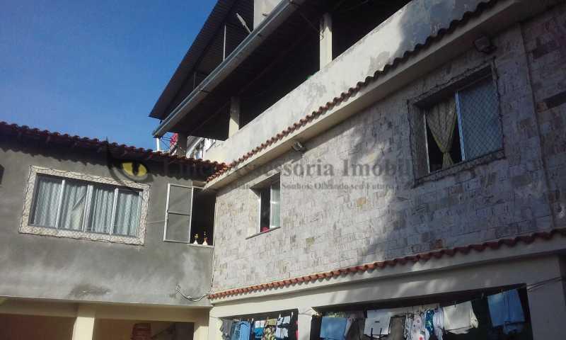 21-Fachada lateral - Casa 9 quartos à venda Rio Comprido, Norte,Rio de Janeiro - R$ 390.000 - TACA90003 - 3