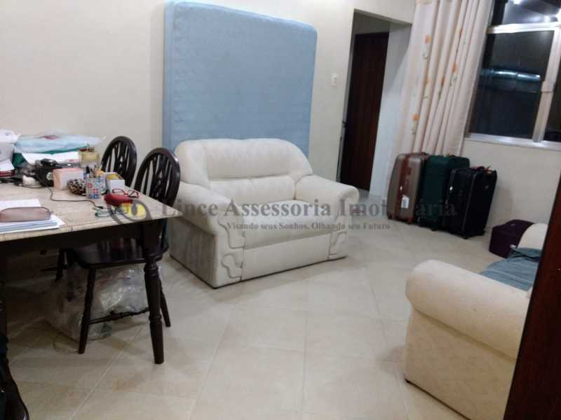 2.1 sala - Apartamento 1 quarto à venda Tijuca, Norte,Rio de Janeiro - R$ 470.000 - PAAP10245 - 4