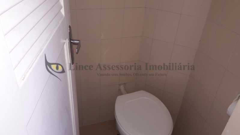 banheiro de serviço  - Apartamento Rio Comprido,Norte,Rio de Janeiro,RJ À Venda,3 Quartos,128m² - PAAP30825 - 24